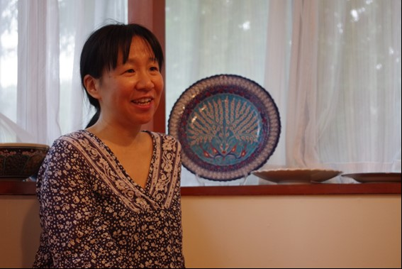 『自由に楽しく、遠慮せず。手作りパンでおもてなし』石川和子