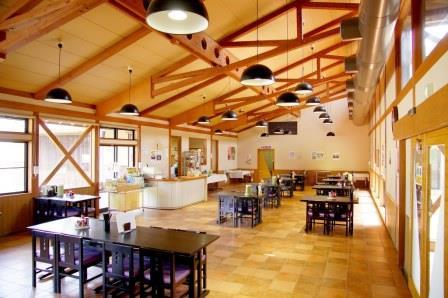 「시바타마을 태양의 마을」의 레스토랑