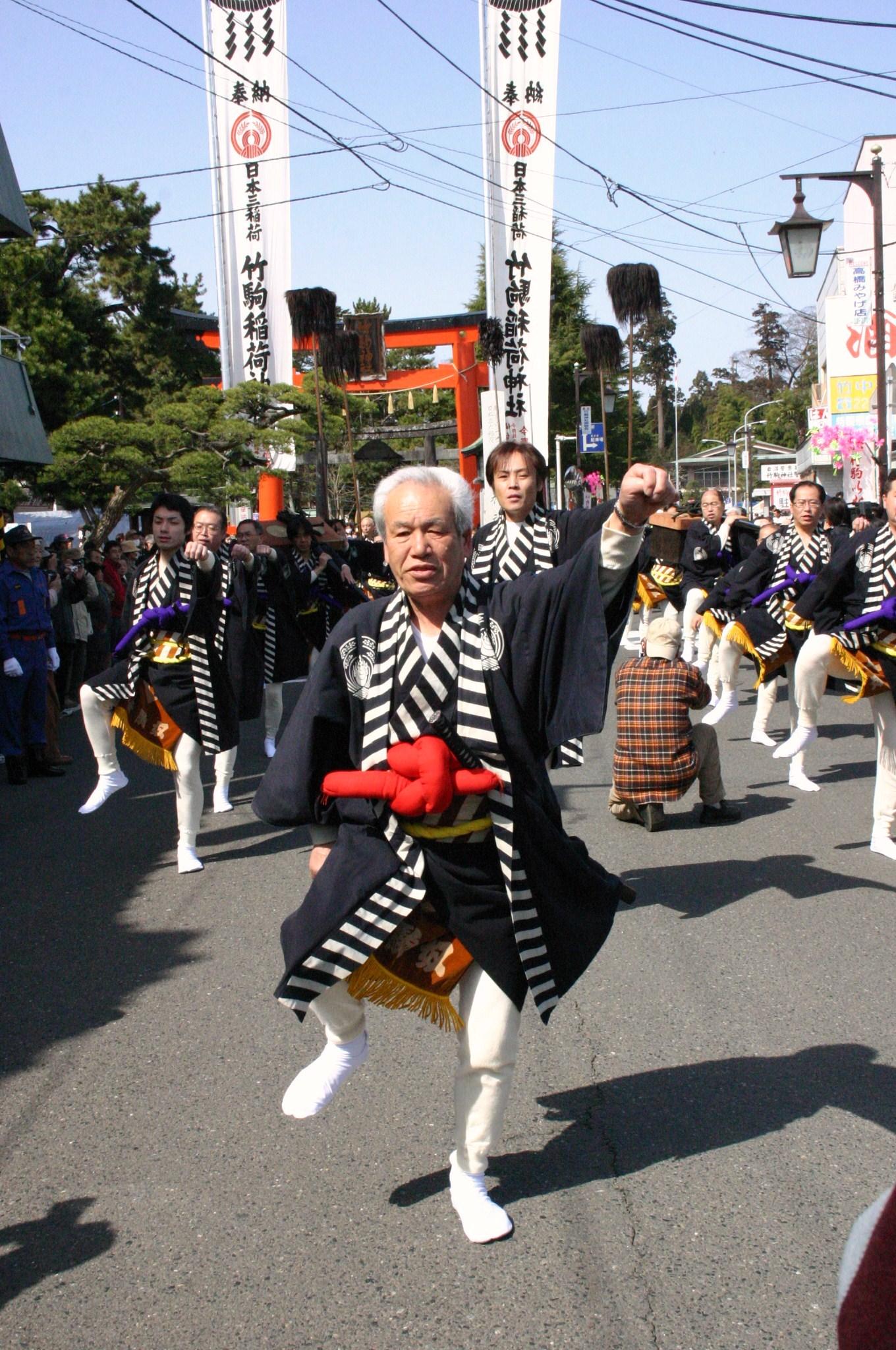 ศาลเจ้า ทาเคโคมะ อินาริ -เทศกาลปีใหม่