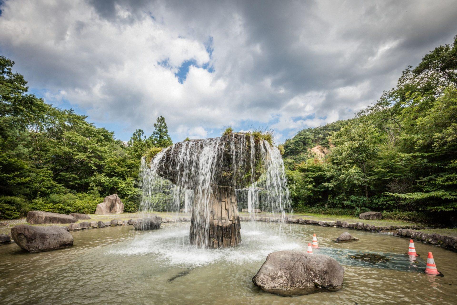 材木岩公园